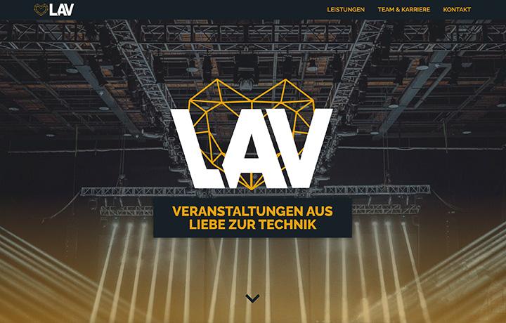 Webdesign LAV